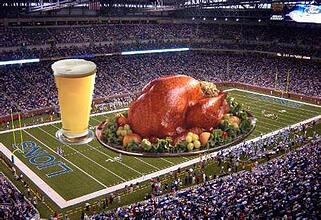 beer nfl turkey