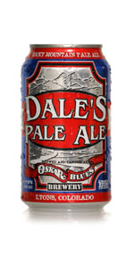 dales pale ale beer can