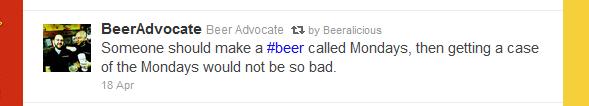twitter beer usersnames